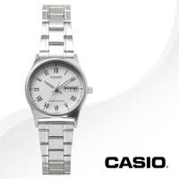 카시오 CASIO LTP-V006D-7B 여성용 메탈밴드 아날로그시계