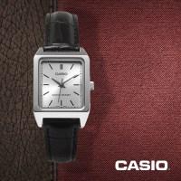 카시오 CASIO LTP-V007L-7E1 여성용 가죽밴드 아날로그시계