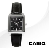 카시오 CASIO LTP-V007L-1E 여성용 가죽밴드 아날로그시계