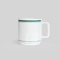 FLASK Cafe mug_Olive green