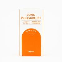 바른생각 콘돔 롱플레져핏 8개입