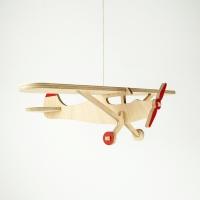 오드윙 F-1(Odd Wings F-1) 목재 모빌