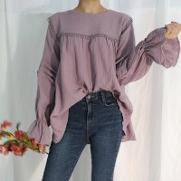Angela balloon blouse