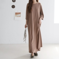 Easy A-Line Long Dress