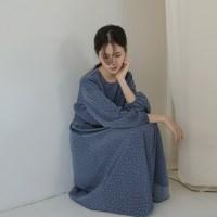 [치즈달] 젤라 도트 원피스