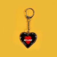HEART STEEL KEY HOLDER_HEART