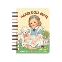 paper doll mate spring memo_8.Alice