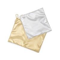 LARGE CARRYALL DUO - METALLIC GOLD  METALLIC SILVER(듀오파우치)
