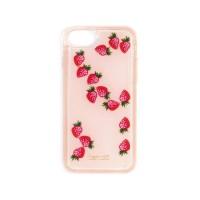 FLOATING ICONS IPHONE CASE - STRAWBERRY(아이폰 6,7,8호환)