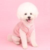 폼폼조끼(indi pink) Pompom vest