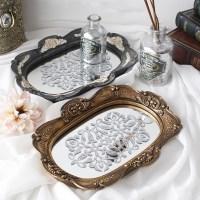 빈트 거울 트레이(2color)_(1363516)