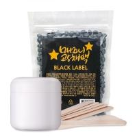 바나다 매끄니광채팩 블랙라벨 셀프왁싱 150g