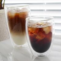 이중 유리 컵 (2 size) 더블 월 글라스