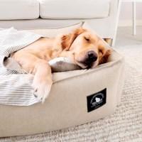 BEIGE LAZY BUMPER BED