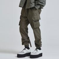 buckle cargo jogger pants (2 color) - UNISEX_(1045035)
