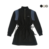 ANORAK SWEAT DRESS(3COLOR)(여성용)