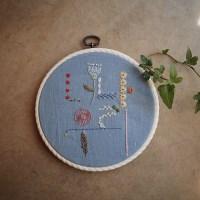마음이 편해지는 프랑스자수 취미-너나우리 한글자수액자 DIY KIT
