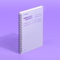 [모트모트] 텐미닛 플래너 100DAYS 컬러칩 - 바이올렛 1EA