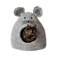[다르마독 카르마캣] 생쥐 모양 하우스 라이트그레이 Light gray