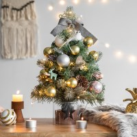 2018 크리스마스트리 풀세트 빈티지골드 전구포함
