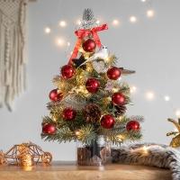 크리스마스 미니트리 풀세트 빈티지레드