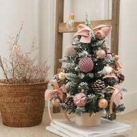 로맨틱크리스마스 파인스노우트리+전구풀세트[2color]_(611311)
