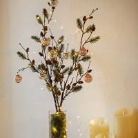 크리스마스 파인가지 솔나무가지 단품
