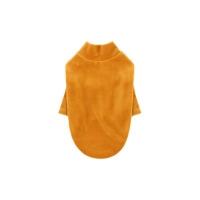 [T.소프트벨벳 티셔츠]Soft velvet T_Mustard