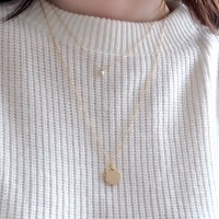 (92.5 silver) loose long necklace