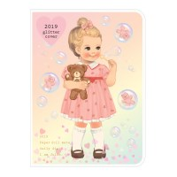 Paper doll mate daily diary 2019 _ glittering Julie