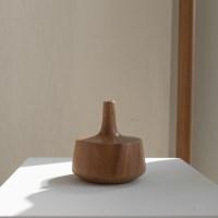 [로렌] wood vase A