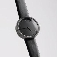 [AITFI] 풀문 손목시계 001 [가죽][블랙-블랙][블랙밴드]