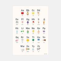 알파벳포스터(방수)