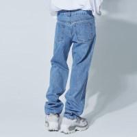 retro wide denim pants - UNISEX_(1081730)