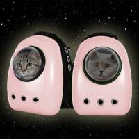신형 고양이 강아지 우주선 이동 백팩 가방