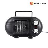 툴콘 팬히터 (500W 800W겸용) 블랙 TC-800D BLACK