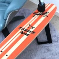롱보드 스툴&테이블_Stripes orange