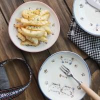 일본식기 마이네코 삼각접시 16cm_(1058108)