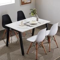 프리코 마블 스틸 1200 식탁 / 테이블 / 책상