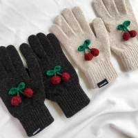 winter cherry gloves