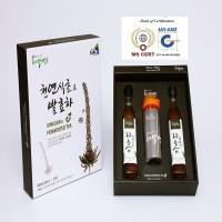 500일이상항아리숙성발효한천연식초&발효차250ml 2병