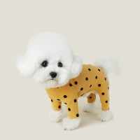 Flocking Dot All In One 후로킹 도트 올인원_ Sunny Yellow