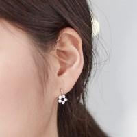 14K 귀걸이 라온(핑크골드)