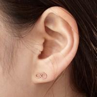 14K 귀걸이 모비(핑크골드)