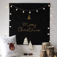 크리스마스 자수 패브릭 포스터 (가리개) - 4color