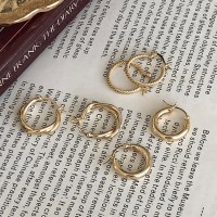 [Silver925] One-touch earring (3type)