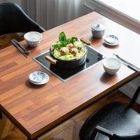 모리 인덕션 멀바우 식탁 / 기능성 식탁(인덕션포함)