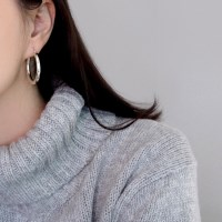 (92.5 silver) time earring