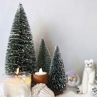 미니 크리스마스트리 LED 30cm 세트(3종)