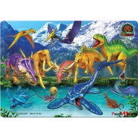 195조각 판퍼즐 - 공룡메카드 2